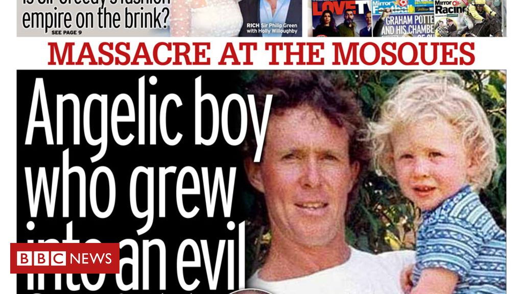 106045612 mirror - Newspaper headlines: 'Massacre' at New Zealand mosques