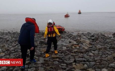 106120660 russiansailorsrescued - Russian sailors rescued after leaving ship to go drinking