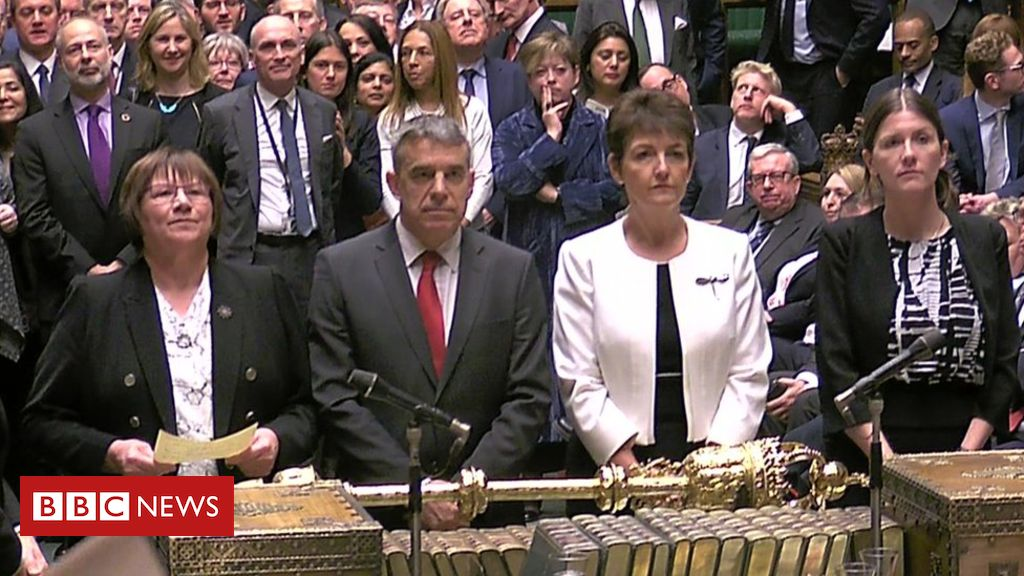 106177368 tellerstwo - MPs back votes on Brexit alternatives by 329 votes to 302