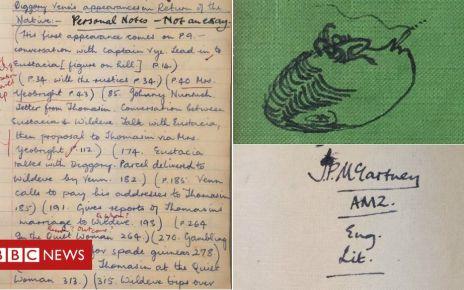 106184468 maccaschoolbook - Paul McCartney's school book sold for £46k after bidding war