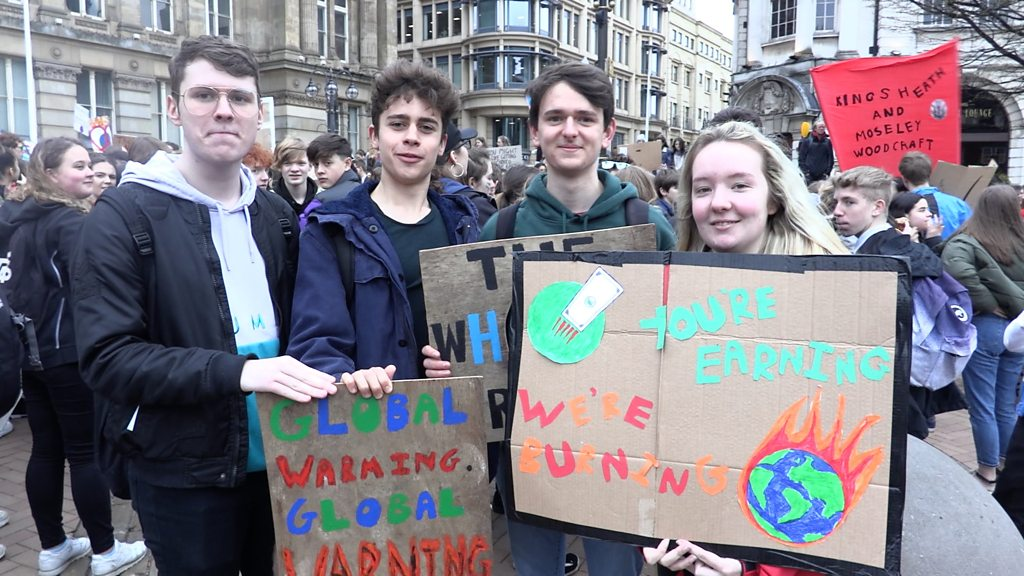 p073p574 - Schools' climate strike: Young people protest across England