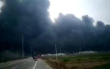 p074682z - China chemical plant explosion kills six in Yancheng