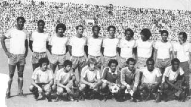 Eamonn pictured with Al Hilal