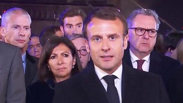 1555387106 18 Notre Dame cathedral Macron pledges reconstruction after fire - Notre-Dame cathedral: Macron pledges reconstruction after fire