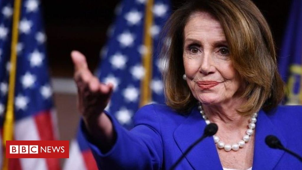 106459556 nancypelosiafp - Pelosi warning over post-Brexit trade deal