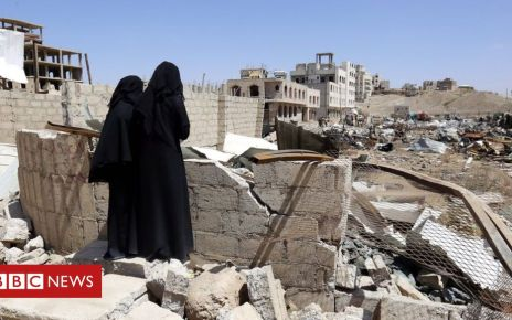 106481771 190a0c40 abed 430f a0b9 690bcb80d616 - Yemen war: Trump vetoes bill to end US support for Saudi-led coalition