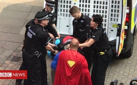 106500312 9e520b53 ea2b 40d9 866a 7b5df472c415 - 'Superman' on hand as Norwich police make arrest