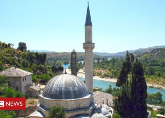 106523805 bosniapociteljgetty19jul11 - Bosnia in spat with Croatia over 'arms in mosques'