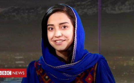 106526223 p076zzsm - Inside Afghanistan's TV station for women