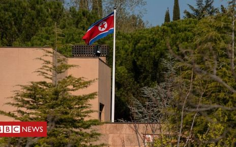 106527057 gettyimages 1138584966 594x594 - US marine 'arrested over N Korea embassy raid in Madrid'