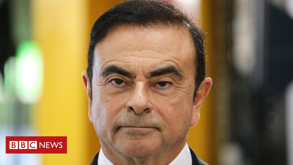 106542922 ghosnnew - Carlos Ghosn: Former Nissan boss hit with fresh charge
