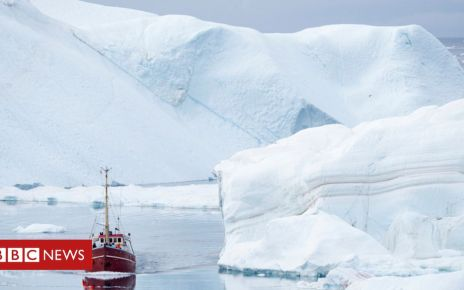 106824329 ilulissatboat - US climate objections sink Arctic Council accord in Finland