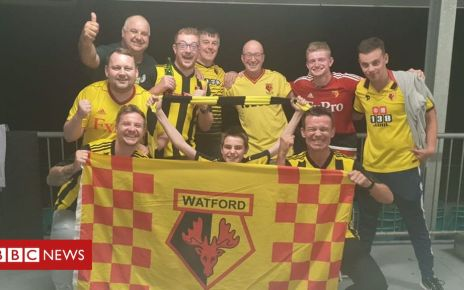 106854658 sydneyzeljkobulic - FA Cup final: Hornets fly in for Watford and Manchester City game