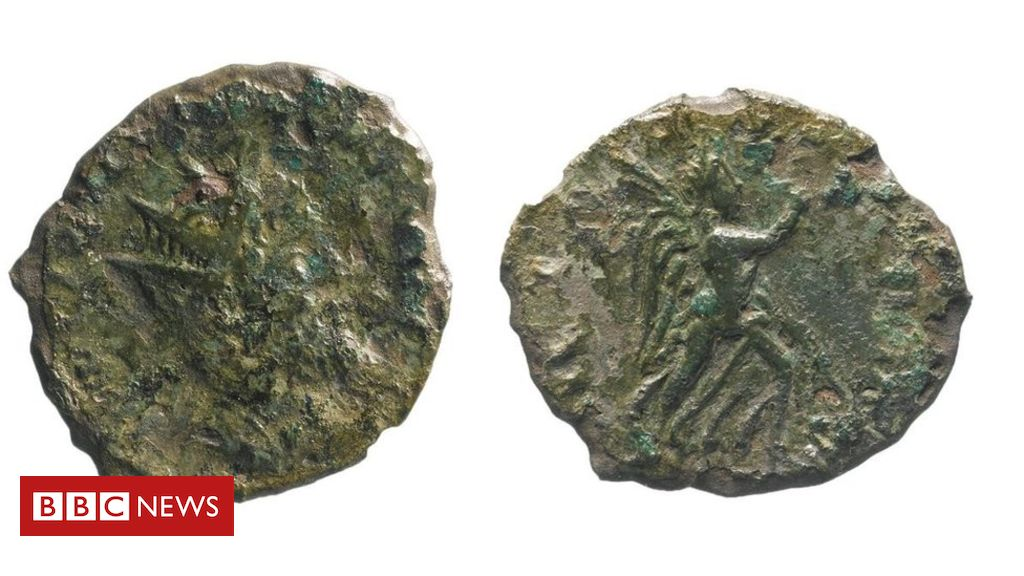 107003839 mediaitem107003838 - 'Incredibly rare' Roman coin found during A14 roadworks