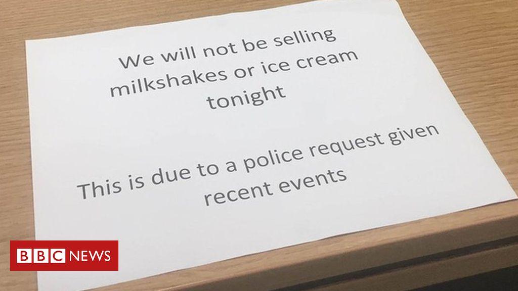 107015182 farage - Ice cream ban near Farage Edinburgh campaign rally