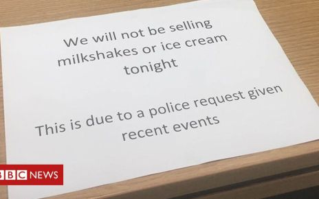 107015182 farage - Ice cream ban near Farage Edinburgh campaign rally