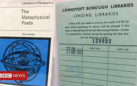 107045498 book - Overdue library book returned after 52 years