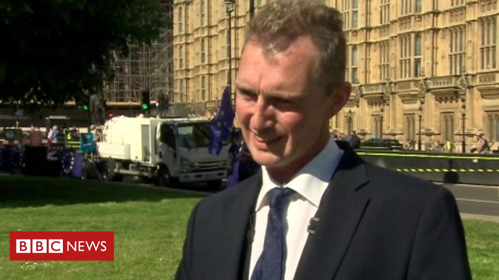 107055795 p079y0pg - Brexit supporting MP called a liar while giving TV interview