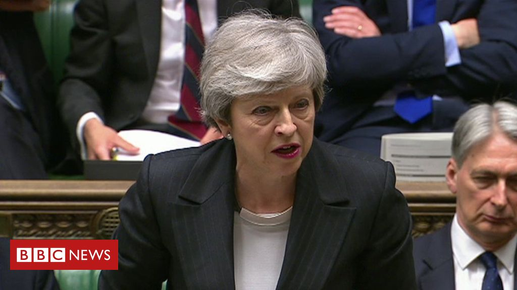 107063266 de37 - Brexit: Theresa May urges MPs to back her plan after backlash