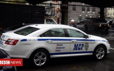107099417 mcp car - Who are the Muslim community patrols protecting US mosques?