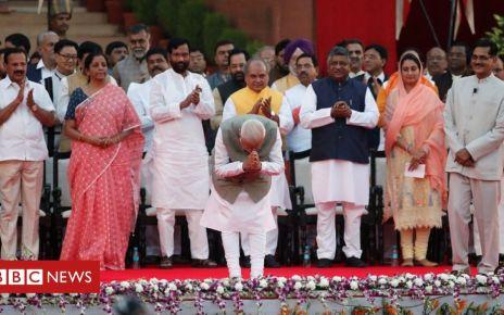 107168941 mediaitem107168940 - Narendra Modi sworn in for second term after election landslide