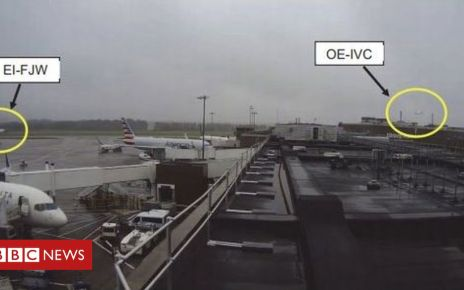 107173262 air2 - Planes narrowly avoid collision at Edinburgh Airport