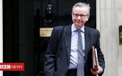 102146241 goveno10 reuters - Michael Gove in 'strong position for DUP support'
