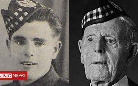 107186107 glenniecompo - Then and now: Scottish veterans remember D-Day landings