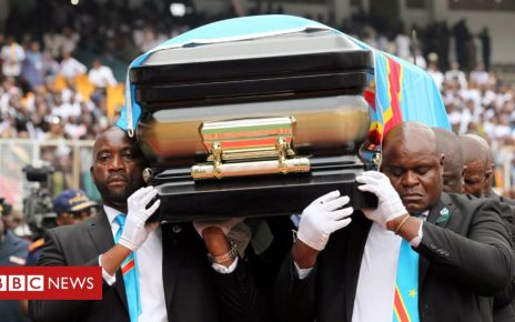 107191625 coffin - Etienne Tshisekedi to be buried in DR Congo