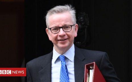 107253043 mediaitem107253042 - Tory leadership: Brexit deadline 'not fixed date' says Gove