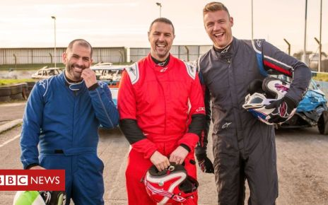 107286601 18257623 high res top gear series 27 - Top Gear: Freddie Flintoff and Paddy McGuinness on joining the trio