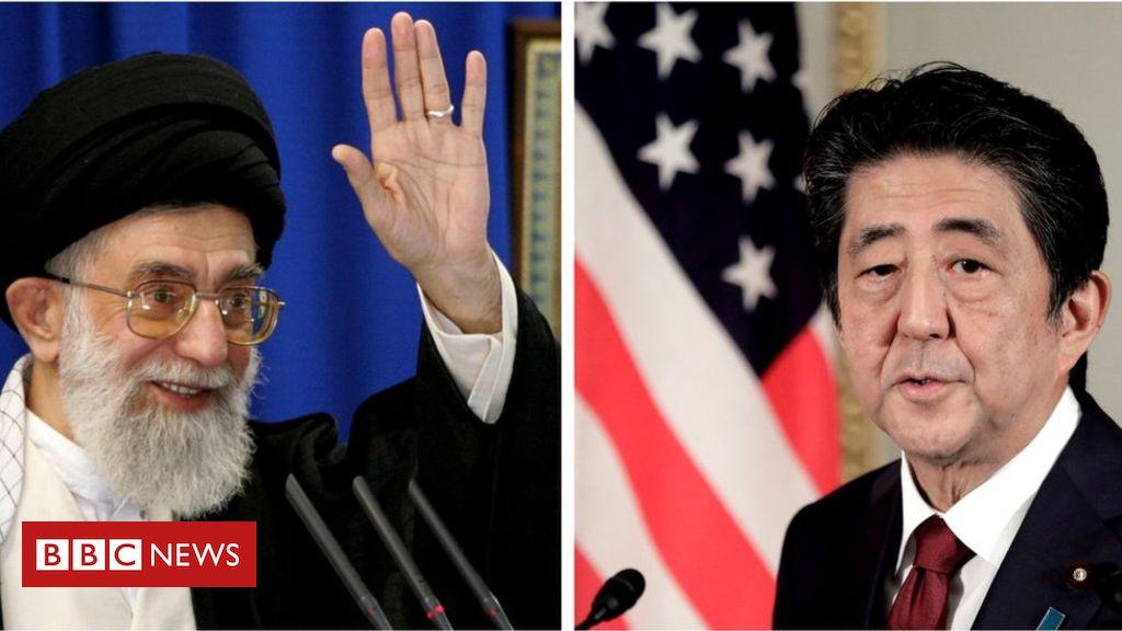107329438 iranjapan3 - Japan's Shinzo Abe heads to Tehran amid US-Iran tensions