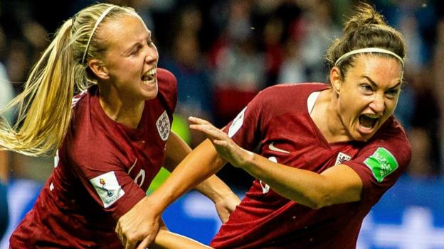 107387149 taylor rex - Women's World Cup: Jodie Taylor goal sends England into last 16