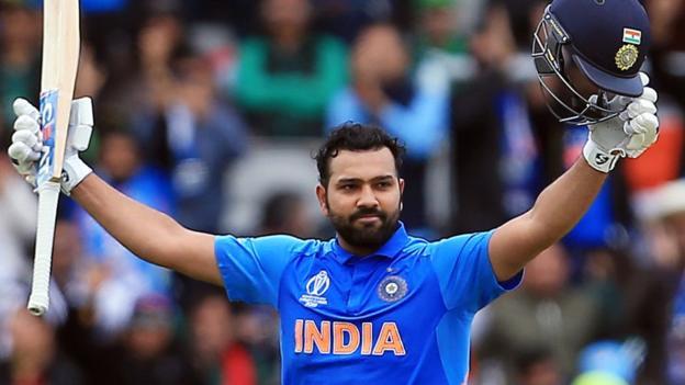 107399456 rohit3 - India vs Pakistan: Rohit Sharma's 140 sets up victory for Virat Kohli's side