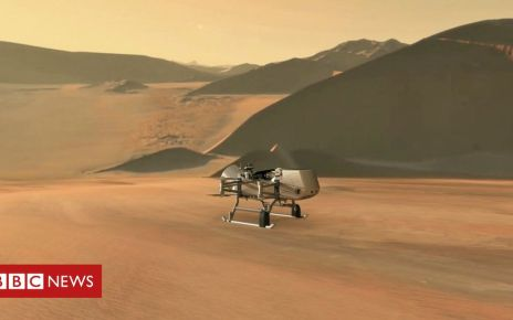 107575824 mediaitem107575823 - Dragonfly: Drone helicopter to fly on Saturn's moon, Titan