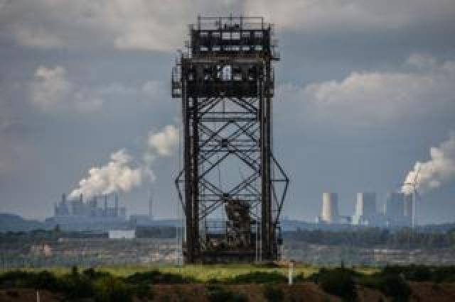 The power stations fuelled by the Hambacher mine