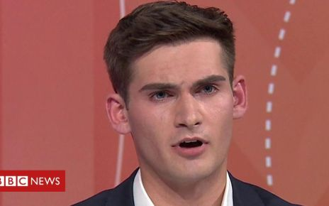 107756172 p07g2fpf - Tom Harwood on Question Time: Brexit Party anthem protest 'dignified'
