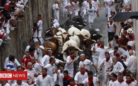 107781505 a80325e1 4e4f 4c22 9c73 dd11a5d344d2 - San Fermín: Three gored during annual Pamplona bull run