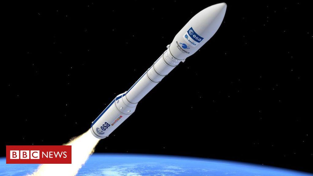 107830031 artist s view of vega carrying aeolus - European Vega rocket lost minutes after liftoff