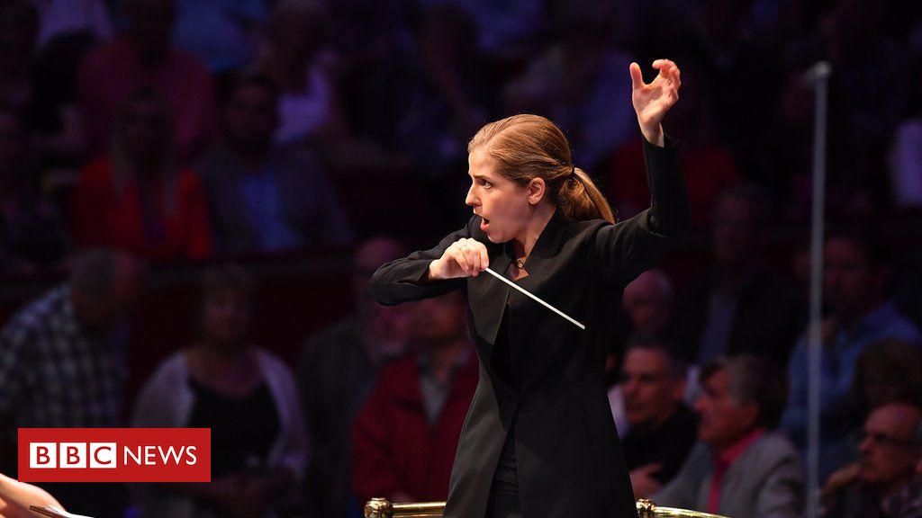 107953041 bbcproms prom1cr chrischristodoulou 2 - Conductor Karina Canellakis makes Proms history with stirring First Night