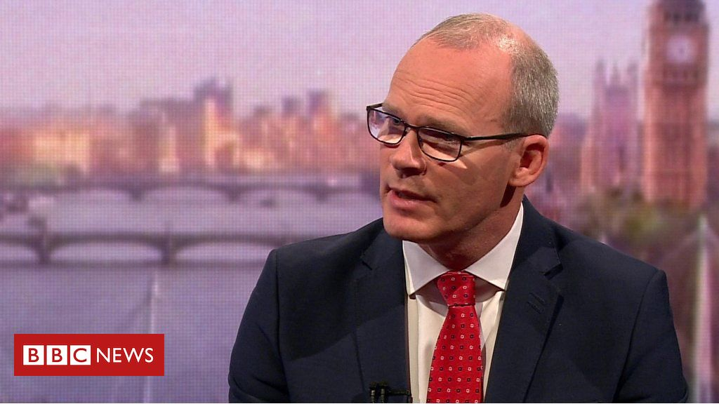 107962362 p07hgblv - Irish deputy PM Coveney: No deal Brexit would mean customs checks in Ireland