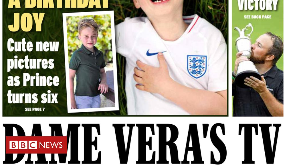 107966794 expresscopy - Newspaper headlines: Tories facing 'chaos' and Prince George turns six