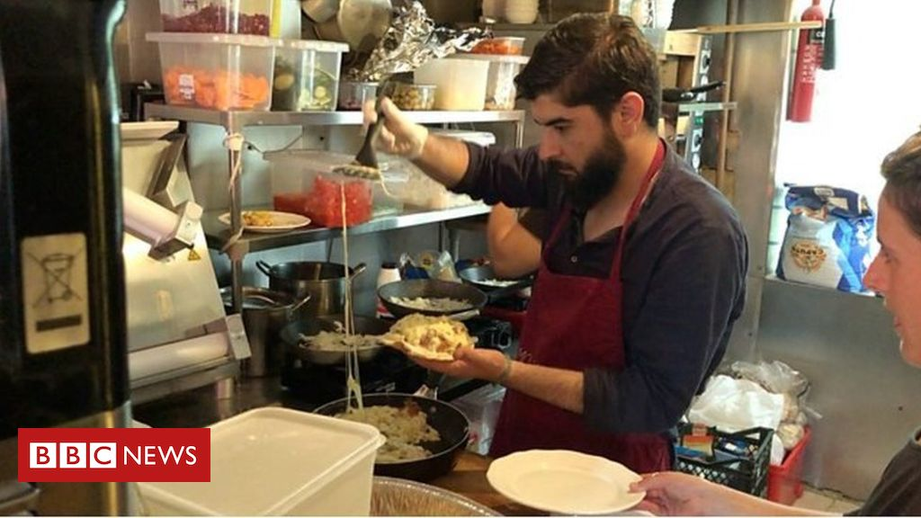 107967280 p07h9cn3 - Egg recipes from the Calais jungle come to London