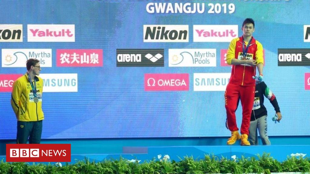 107967315 3bfbc459 fc5a 45c3 9914 f59b916f7501 - Mack Horton: Swimmer refuses to join rival Sun Yang on podium