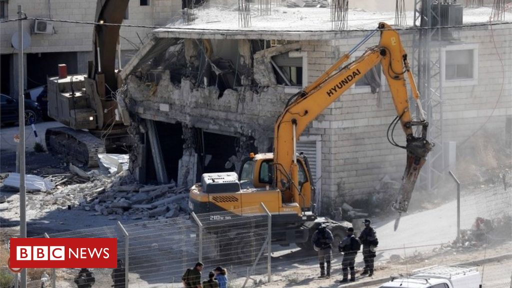 107969393 mediaitem107969392 - Israel demolishes 'illegal' homes under Palestinian control