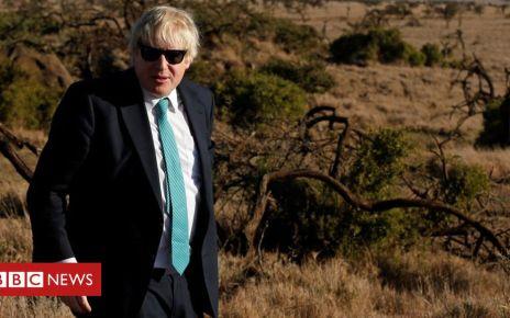 108033329 boriselephants - Boris Johnson: Does Africa shrug, smile or scowl?
