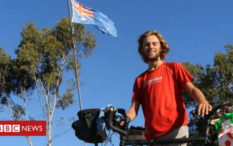 108092194 67121551 412803402683299 6046145305051660288 o - Leicester teenager cycles solo from UK to Australia