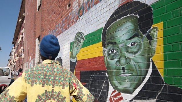 1568027556 666 Robert Mugabe died a 039very bitter039 man nephew says - Robert Mugabe's body being flown home from Singapore