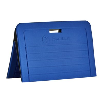 tapis de gym pliable sveltus bleu