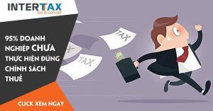 95% doanh nghiệp chưa thực hiện đúng chính sách thuế